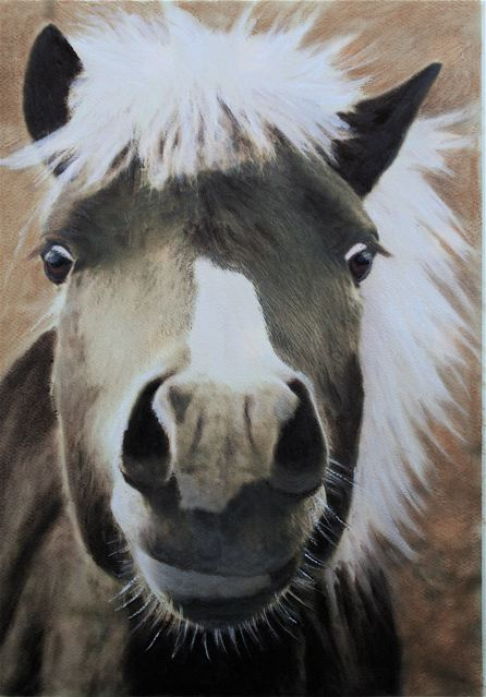 pastel painting with pan pastels