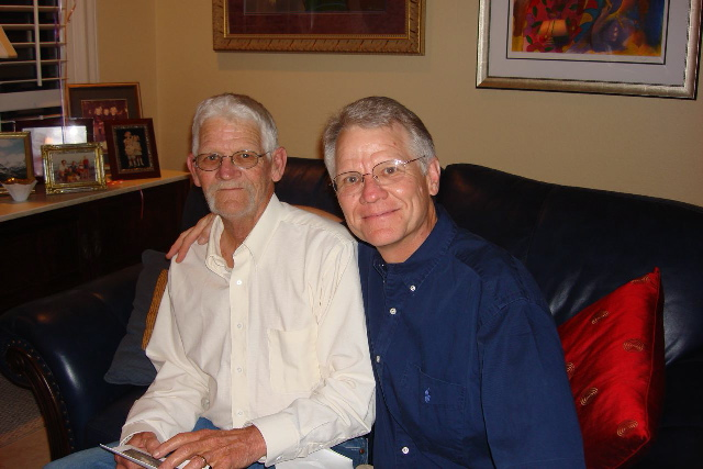 Russell and Tom Parish