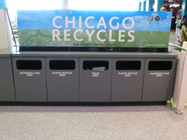 Chicago recycles
